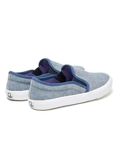 012 Benetton Ayakkabı İndigo